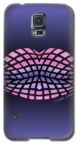 Vasarely Style Lips Galaxy S5 Case