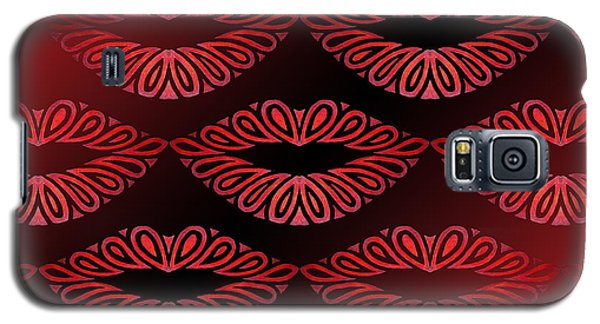 Tribal Lips Galaxy S5 Case