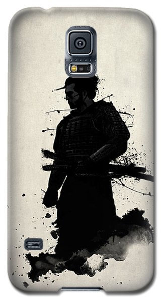 Galaxy S5 Case featuring the painting Samurai by Nicklas Gustafsson