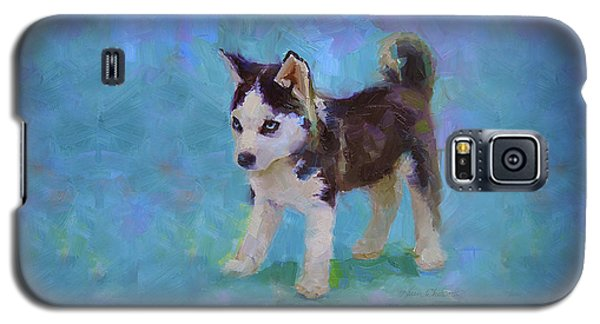 Alaskan Husky Sled Dog Puppy Galaxy S5 Case