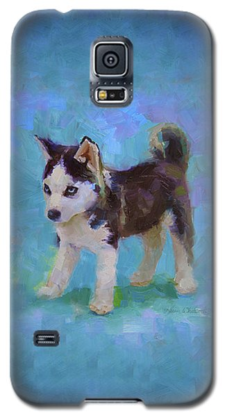 Alaskan Husky Sled Dog Puppy Galaxy S5 Case