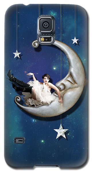 The Sky Galaxy S5 Case - Paper Moon by Linda Lees