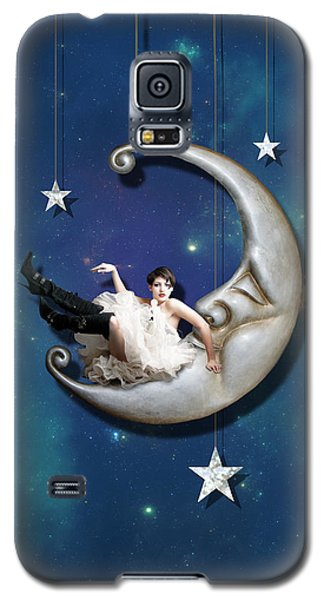 Paper Moon Galaxy S5 Case by Linda Lees