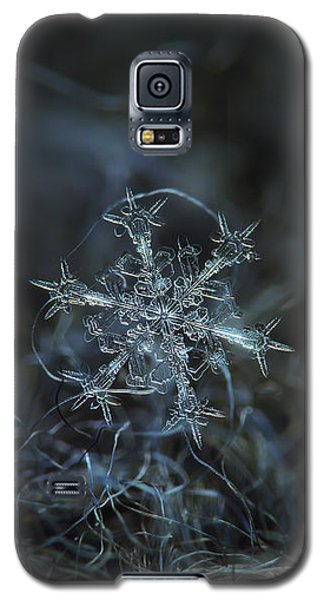 Snowflake Photo - Starlight Galaxy S5 Case