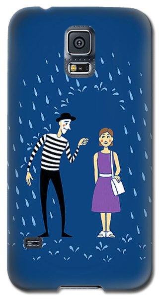 Galaxy S5 Case featuring the digital art A Helping Hand by Ben Hartnett
