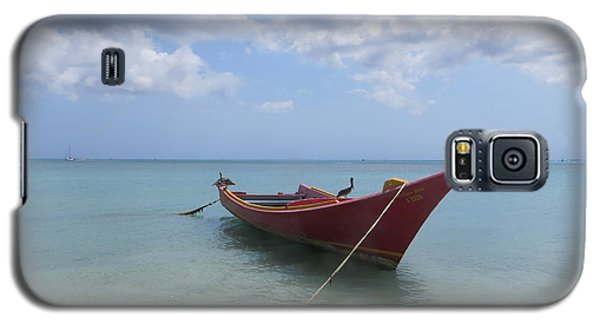 Galaxy S5 Case featuring the photograph Aruba by Jean Marie Maggi