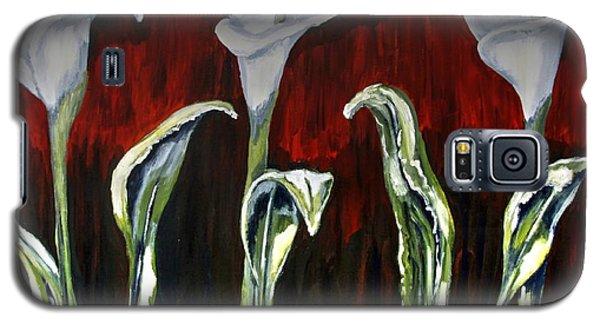 Arum Lillies Galaxy S5 Case
