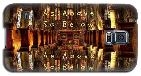 As Above So Below Galaxy S5 Case