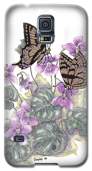 As Close To The Flowers Galaxy S5 Case