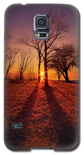 Galaxy S5 Case featuring the photograph As Sure As The Sun Will Rise by Phil Koch