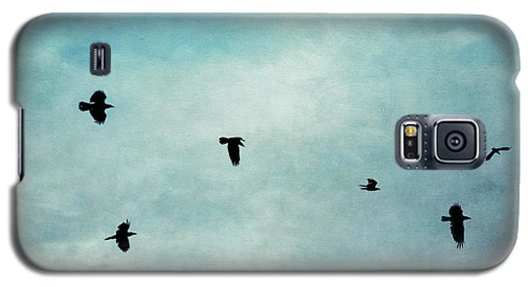 As The Ravens Fly Galaxy S5 Case by Priska Wettstein
