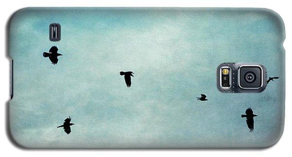 As The Ravens Fly Galaxy S5 Case by Priska Wettstein