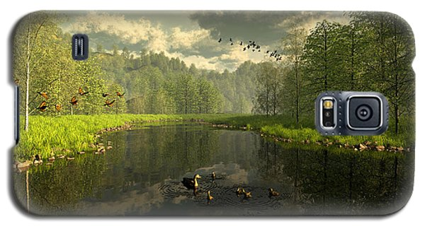 As The River Flows Galaxy S5 Case
