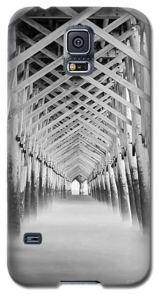 As The Water Fades Grayscale Galaxy S5 Case by Jennifer White