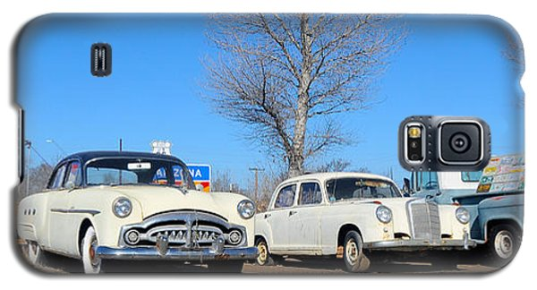 Ash Fork Vintage Cars Along Historic Route 66 Galaxy S5 Case