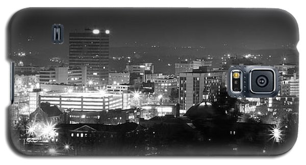 Asheville North Carolina Skyline Galaxy S5 Case by Gray  Artus