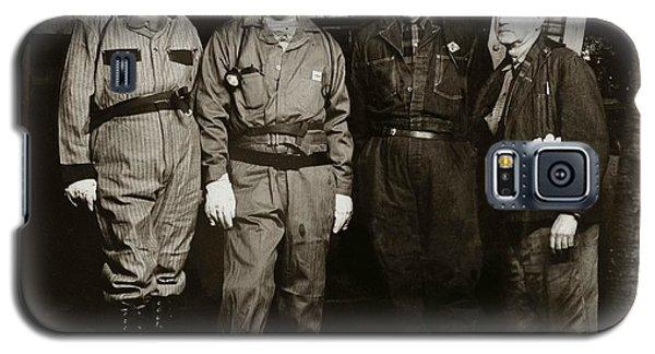 Ashley Pa  Glen Alden Coal Co  Huber Coal Breaker 1962 Galaxy S5 Case