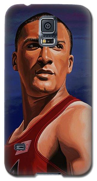 Ashton Eaton Painting Galaxy S5 Case by Paul Meijering