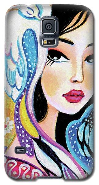 Asian Bird Galaxy S5 Case
