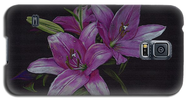 Asian Lillies Galaxy S5 Case