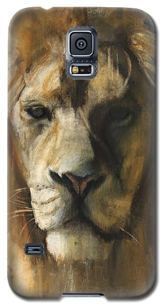 Asiatic Lion Galaxy S5 Case by Mark Adlington