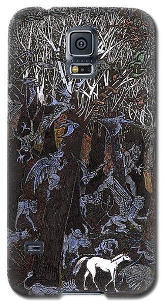 Asil In Shitaki Forest Galaxy S5 Case
