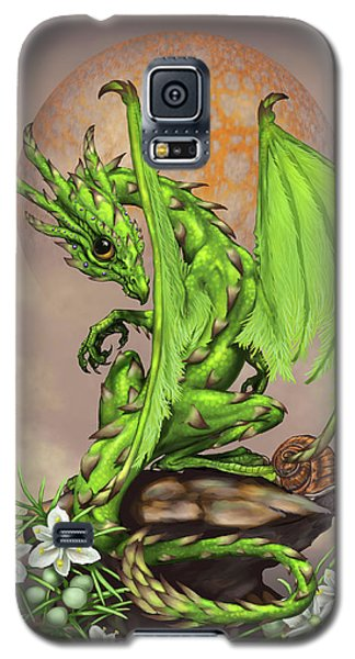 Asparagus Dragon Galaxy S5 Case by Stanley Morrison