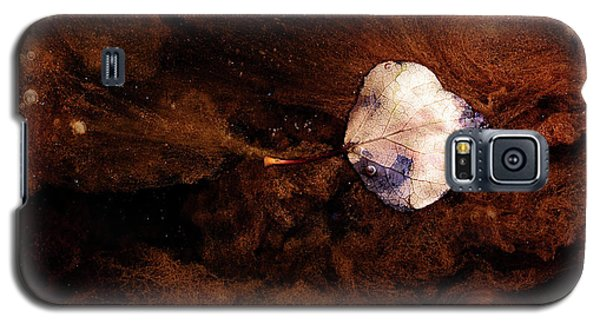 Aspen Leaf In Mud Wash Galaxy S5 Case