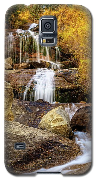 Aspen-lined Waterfalls Galaxy S5 Case