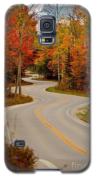 Asphalt Creek In Door County Galaxy S5 Case