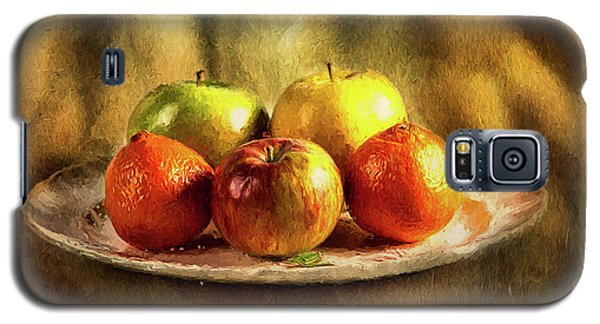 Assorted Fruits In A Plate Galaxy S5 Case