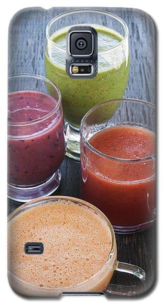 Watermelon Galaxy S5 Case - Assorted Smoothies by Elena Elisseeva