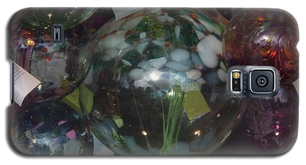 Galaxy S5 Case featuring the photograph Assorted Witching Balls by Suzanne Gaff