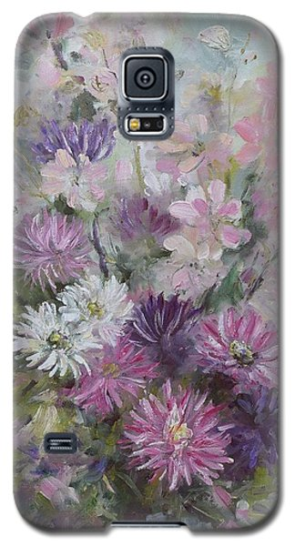 Asters And Stocks Galaxy S5 Case
