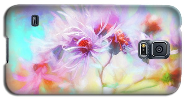 Asters Gone Wild Galaxy S5 Case