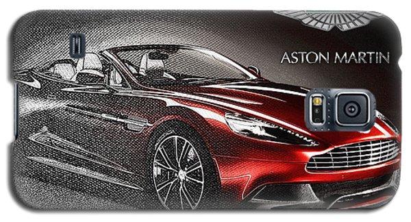 Aston Martin Vanquish Volante  Galaxy S5 Case by Serge Averbukh
