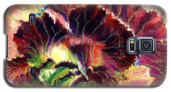 Astonishing Cabbage  Pastel Galaxy S5 Case by Antonia Citrino