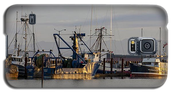 Astoria Fishing Fleet At Dawn Galaxy S5 Case