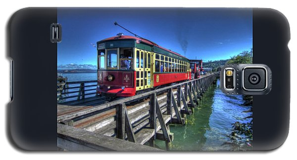 Astoria Riverfront Trolley Galaxy S5 Case