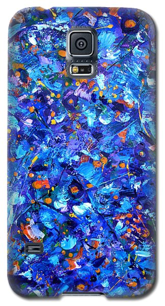 Galaxy S5 Case featuring the painting Astral Projection by Lynda Lehmann