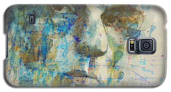 Galaxy S5 Case featuring the mixed media Astral Weeks by Paul Lovering
