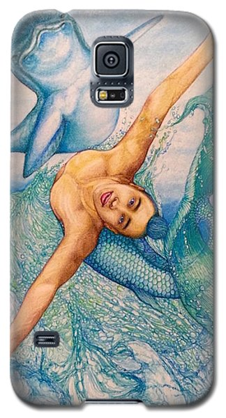 Astrology Zodiac Signs Pisces Galaxy S5 Case by Kent Chua