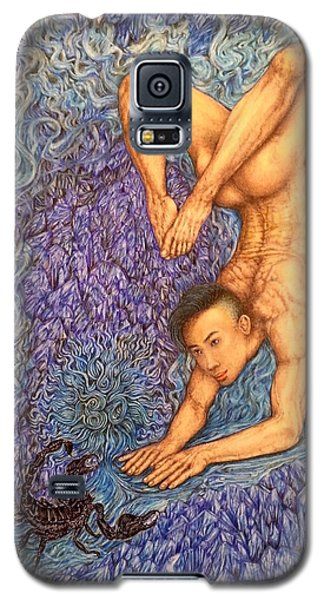 Astrology Zodiac Sign Scorpio  Galaxy S5 Case by Kent Chua