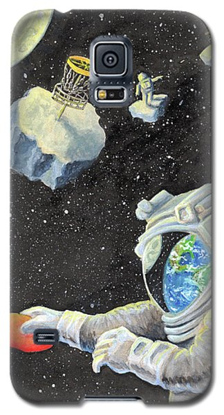 Astronaut Disc Golf Galaxy S5 Case