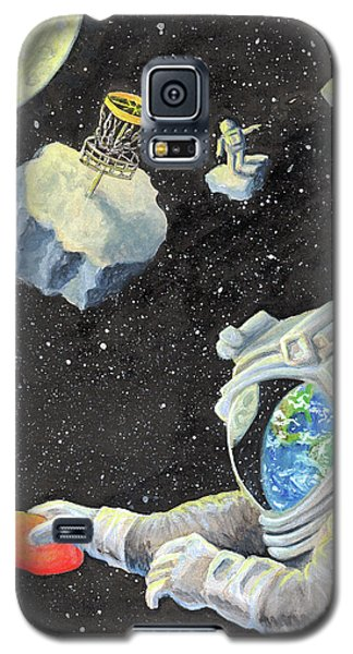 Astronaut Disc Golf Galaxy S5 Case
