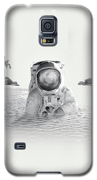 Astronaut Galaxy S5 Case by Fran Rodriguez