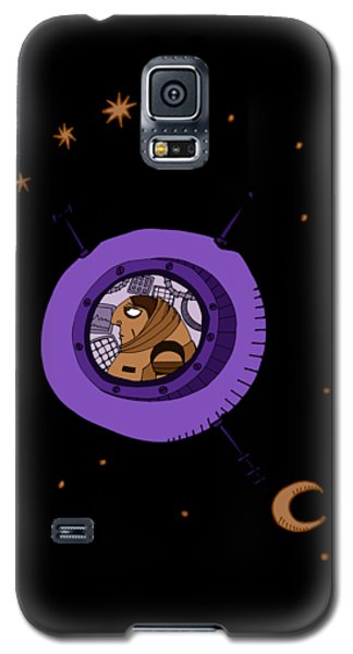 Astronaut In Deep Space Galaxy S5 Case
