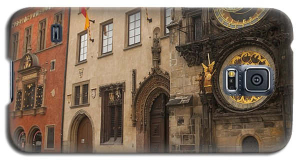 Astronomical Clock In Old Prague Galaxy S5 Case