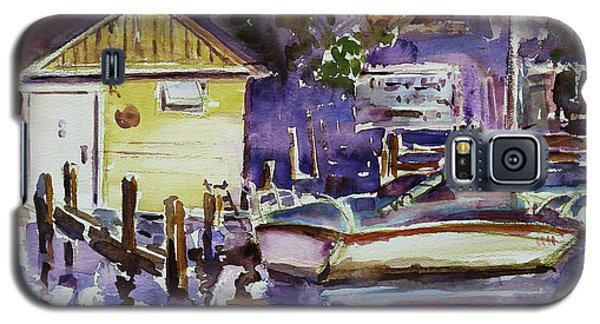 At Boat House 3 Galaxy S5 Case