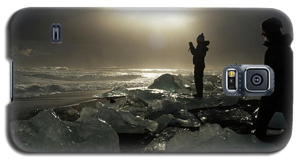 The Diamond Beach, Jokulsarlon, Iceland Galaxy S5 Case